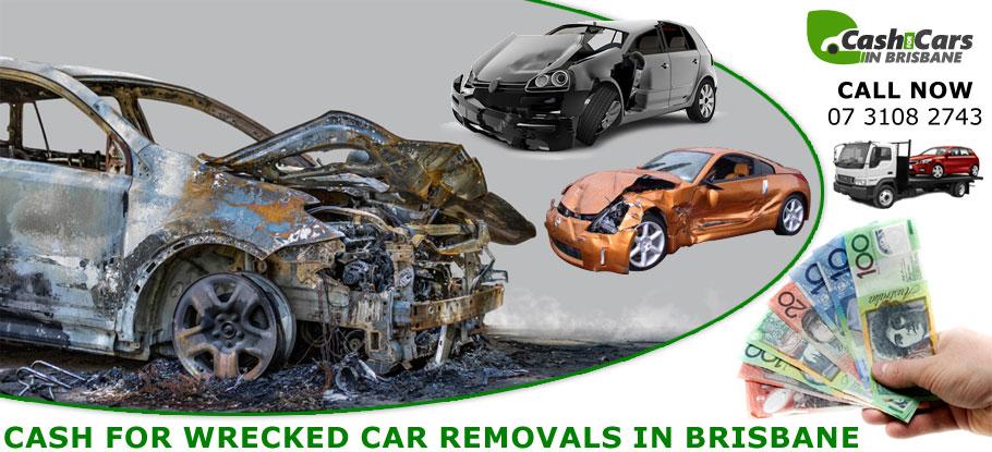 Wrecked Car Removals Brisbane